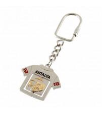 AK-5130 Çift Taraflı Metal Anahtarlık