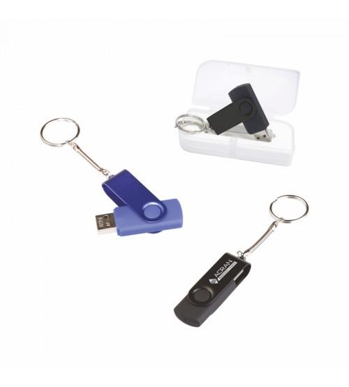 AK-F-95R-16 Metal & Plastik USB Bellek 16 GB